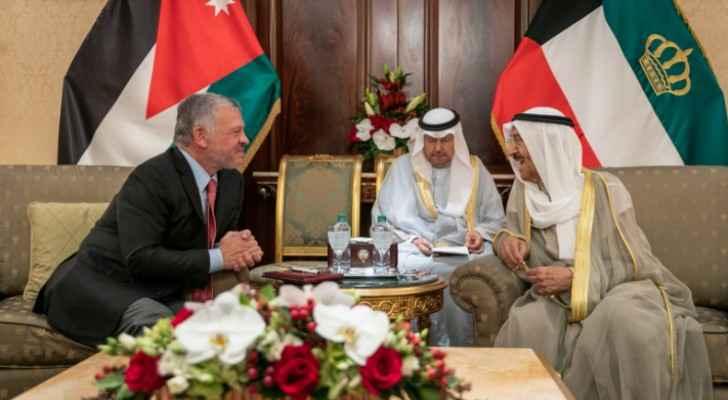 King, Kuwait emir hold talks on brotherly bilateral ties