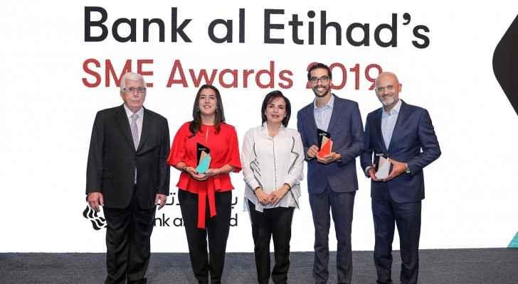 Bank al Etihad celebrates Jabal Amman Publishers, Baraka Destinations, and WashyWash