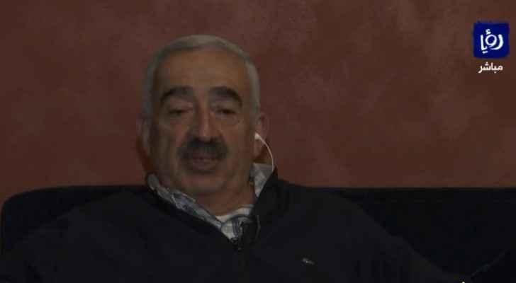 Ahmed Al-Labadi, father of Jordanian detainee Hiba Al-Labadi