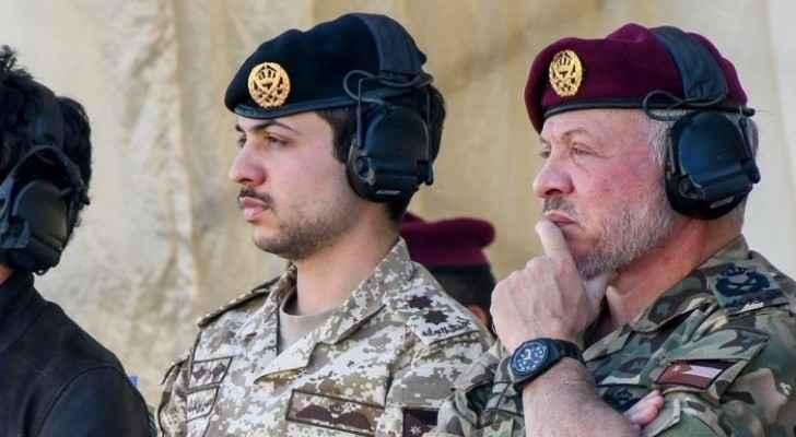 King, Crown Prince visit King Abdullah II Royal Special Forces