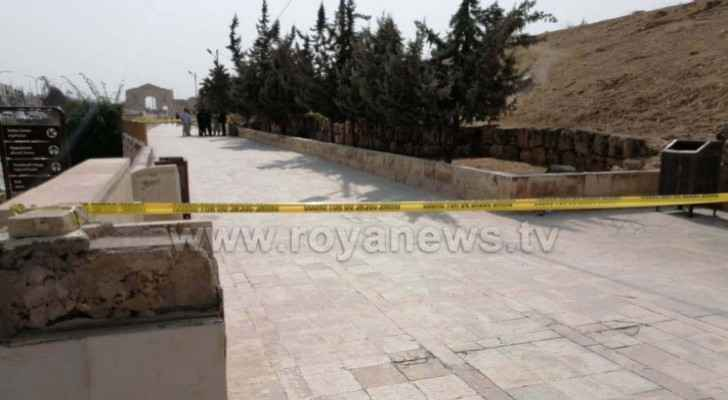 View photos from scene of Jerash stabbing incident