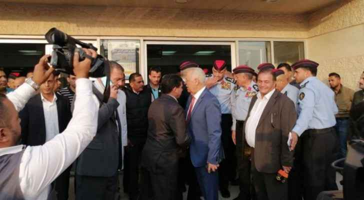 Watch Royal Court Chief, Director of PSD check on injured in Jerash stabbing incident