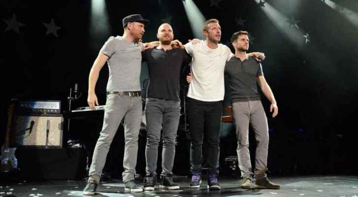 Coldplay inviting you to be part of livestream shows in Amman on Nov 22