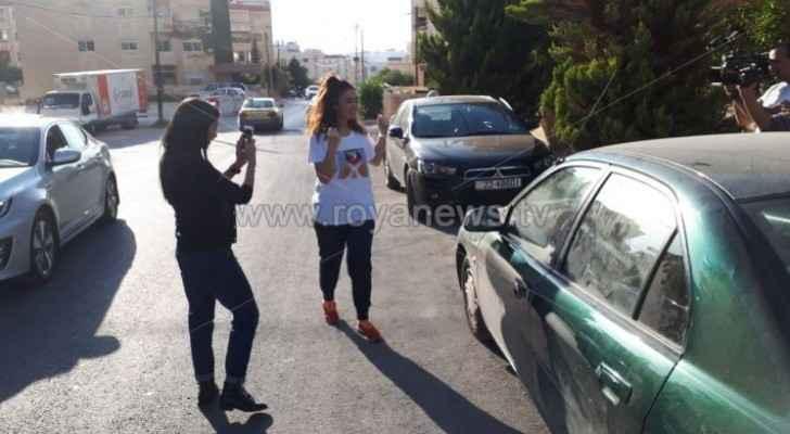Hiba Al-Labadi leaves hospital, arrives at her family home