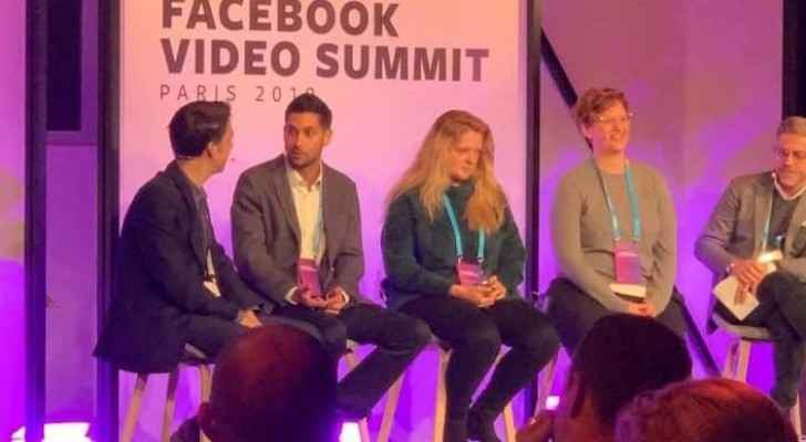 General Manager of Roya TV, Fares Sayegh, keynote speaker at Facebook Video Summit in Paris
