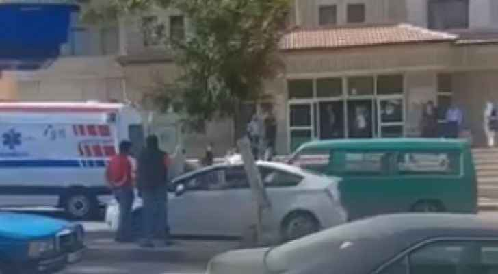 Video: Fight erupts between man, ex-wife in Irbid