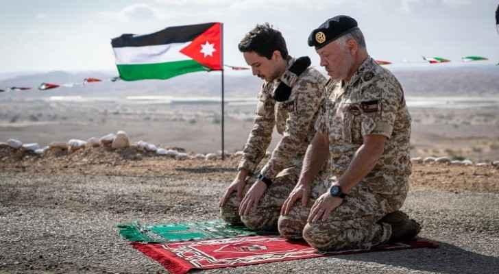 King visits Al Ghamr