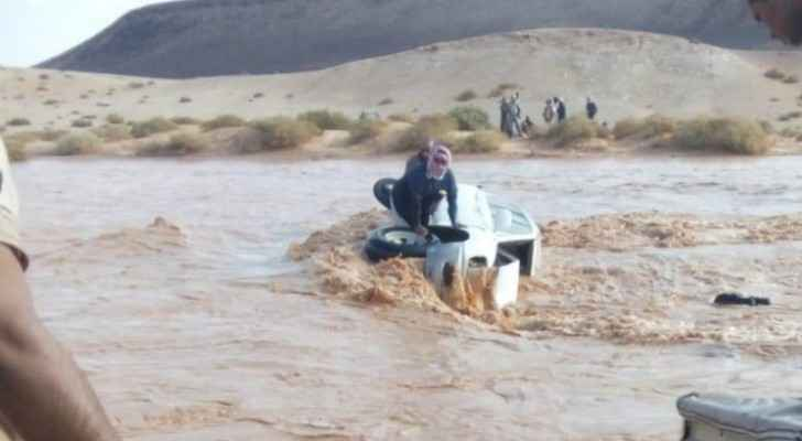 Saudi Arabia thanks Jordan for rescuing four Saudis raided by water in Azraq