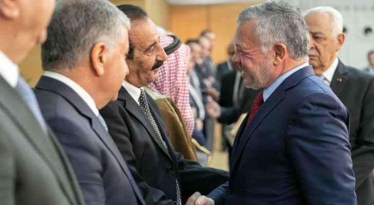 King meets Bani Hassan tribe leaders as part of Basman Forum meetings