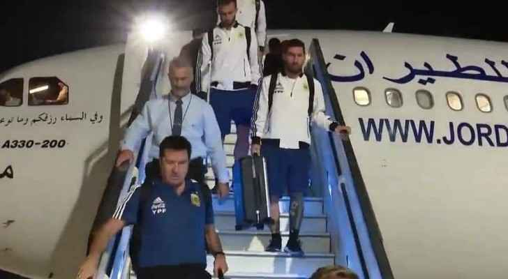 Argentina's national team's arrival in Tel Aviv via local airline provokes Jordanians