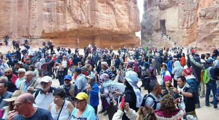 Petra to log one million tourists soon