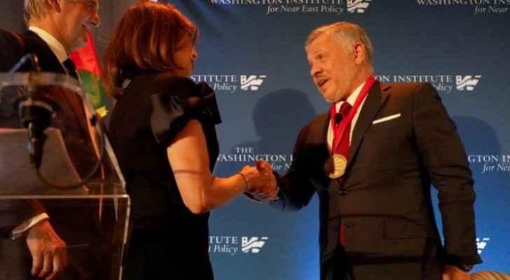 King Abdullah II receives 2019 Scholar-Statesman Award in New York