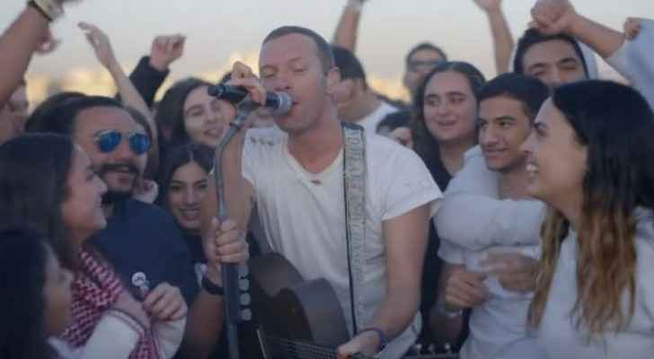 Coldplay performs stunning live shows at Amman Citadel