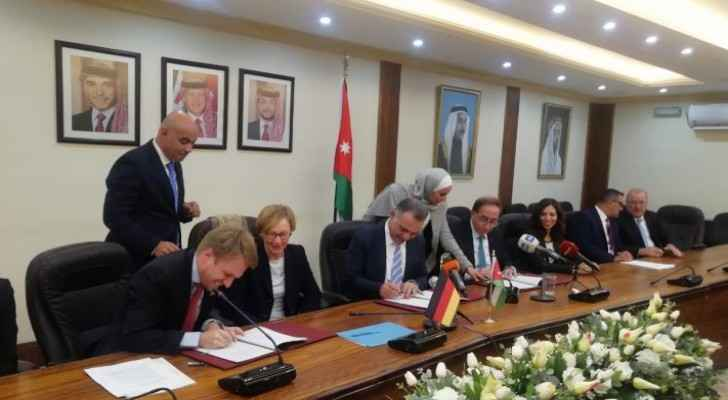 Germany offers €20 million grant to finance vocational training program in Jordan