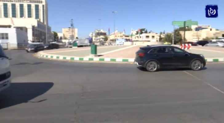 GAM to start removing 6th circle in Amman this Wednesday