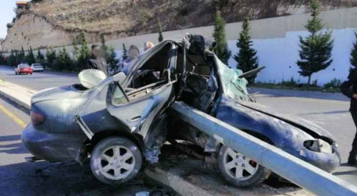 Road accident leaves one killed, another injured in Balqa
