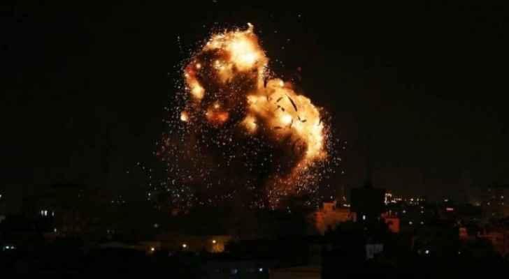 Watch Israeli warplanes pound posts in Gaza