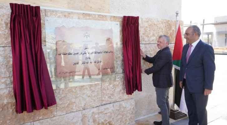 King inaugurates King Abdullah II Park in Mugabalein