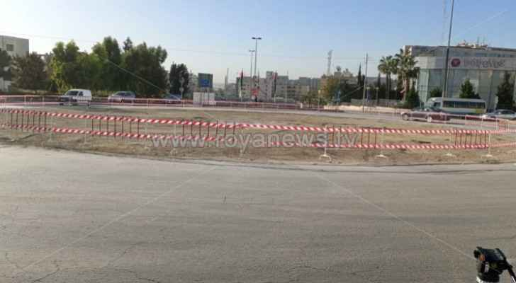 6th circle in Amman officially removed