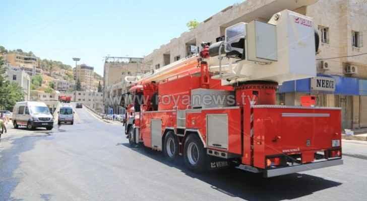 CDD puts out fire in Zarqa