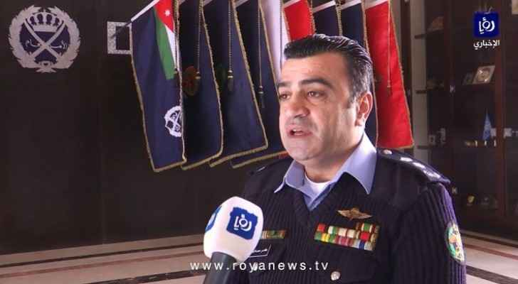 Spokesman for the Public Security Directorate (PSD), Amer Sartawi