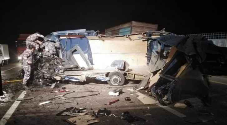 Two dead, one injured in collision accident in Ma'an