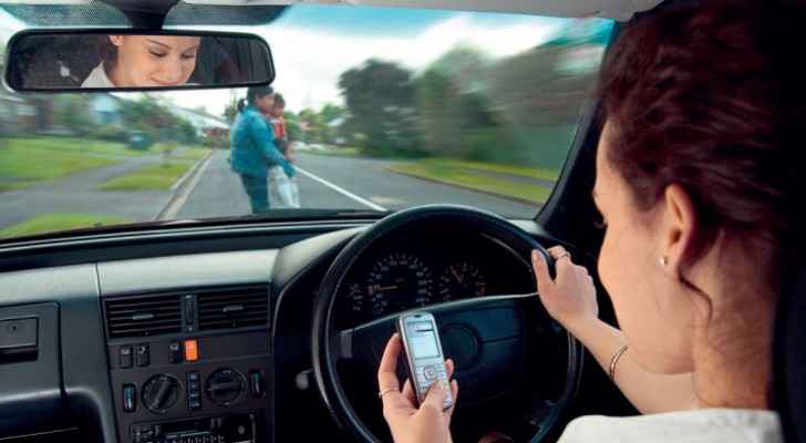 85% of Jordanians support intensifying penalties on people who use phones while driving