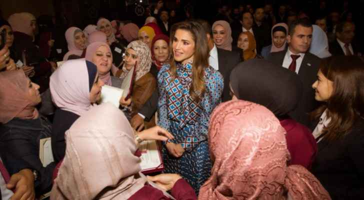 Queen Rania honors winners of 2019 Queen Rania Award for Excellence in Education