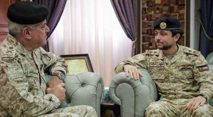 Crown Prince visits Armed Forces General Command