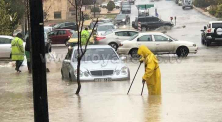 Arabia Weather warns of flashfloods tomorrow due to heavy rainfall