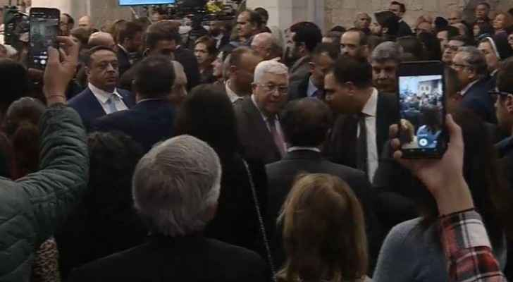 Video: Deputizing for King, Daoud attends Bethlehem Christmas Midnight Mass