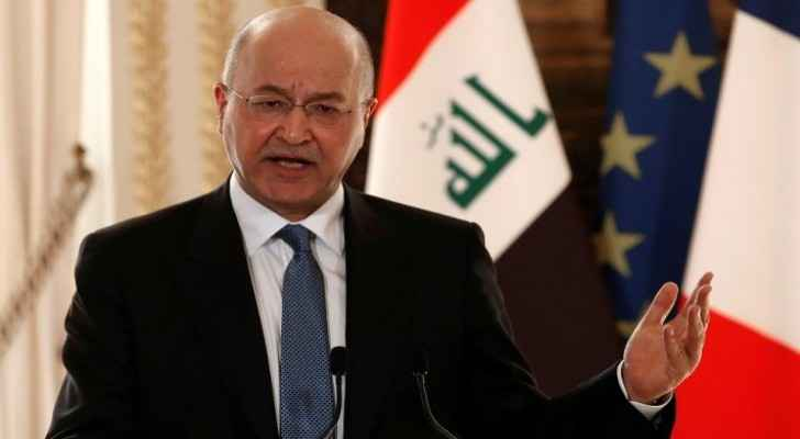 Iraqi President hands resignation to parliament