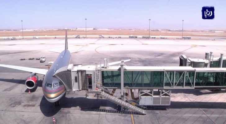 Queen Alia International Airport welcomes 628,101 passengers during November