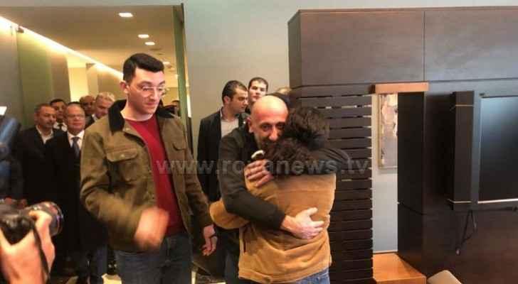 Jordanian held in Libya, Fadi Afara, arrives in Amman