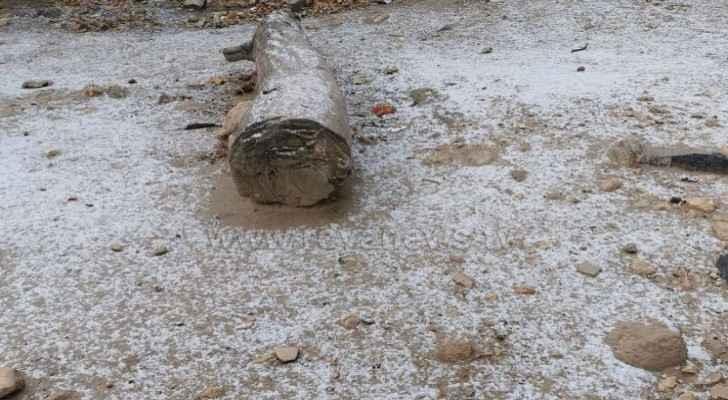 Watch snowfall in Tafilah this morning