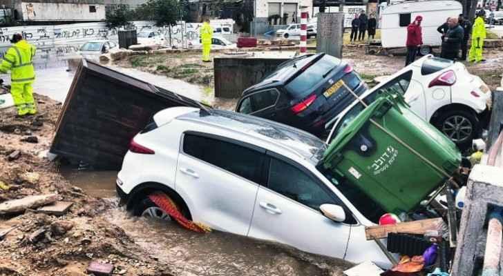 Two die in flooded elevator as downpours hit Jaffa, Tel Aviv
