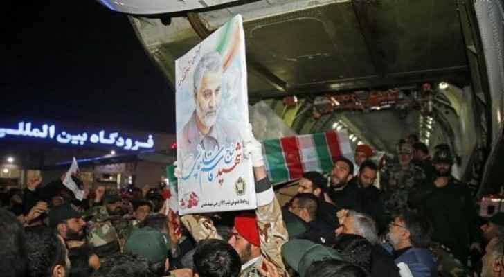 Body of top Iranian general Soleimani killed in US airstrike returned to Iran