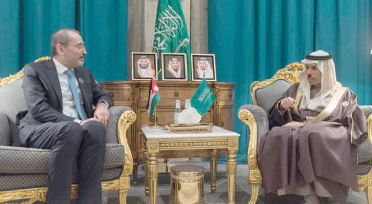 FM holds talks with Saudi counterpart