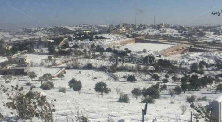 JMD: Snow, hail, heavy rainfall and strong winds coming to Jordan