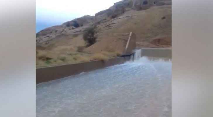 Watch Shueib Valley Dam floods