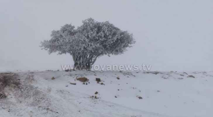 Watch snow blankets southern high areas