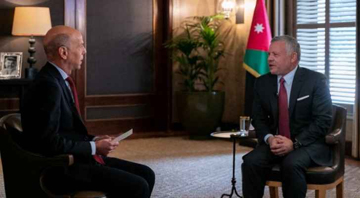 Video: France 24 conducts special interview with King Abdullah