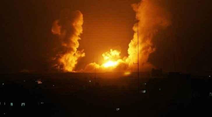 Israeli Air Force hits Gaza