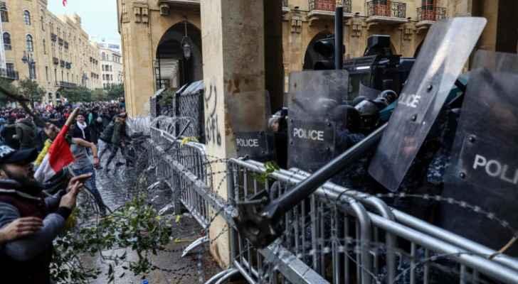 Hundreds injured as Lebanon protests turn violent