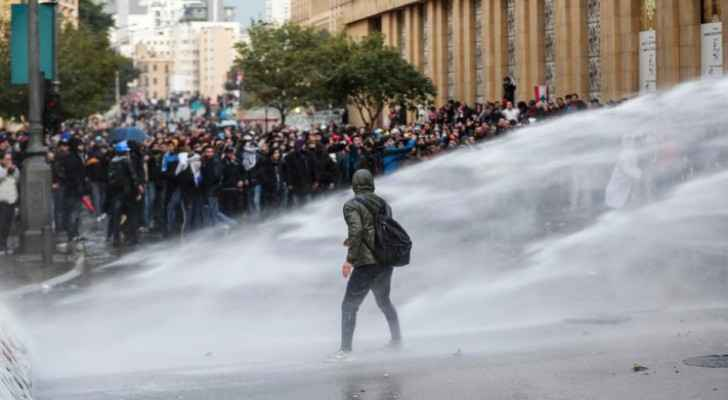 Lebanese security forces, protesters clash in second day of violent escalation