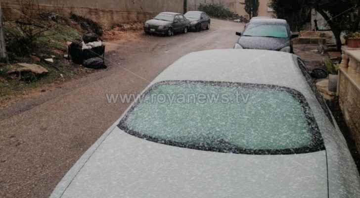 Video: Snow falls in Ajloun