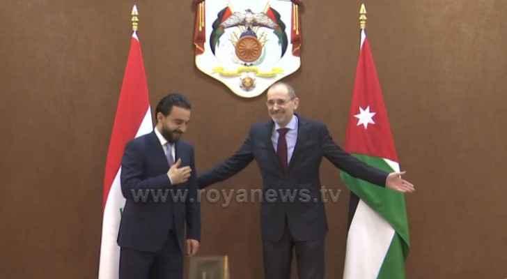 FM Safadi, Iraqi Parliament speaker discuss ties