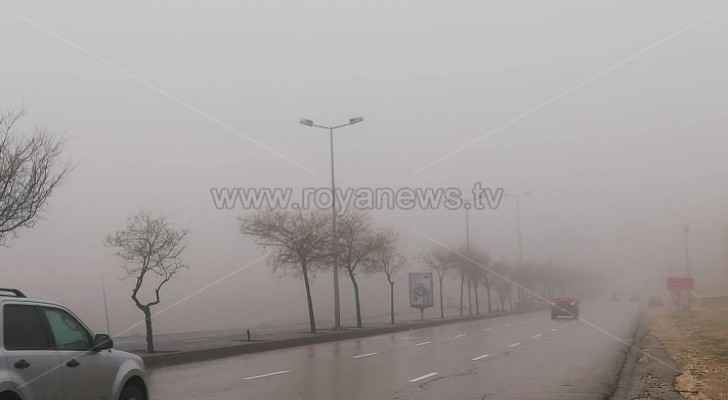 CTD warns drivers of fog