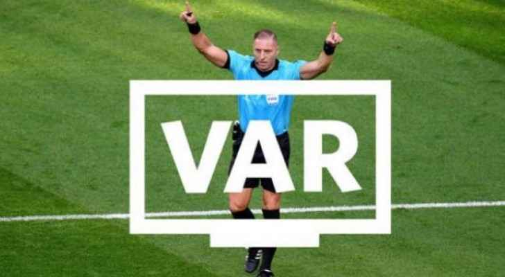 VAR system used for the first time in Jordan's football history