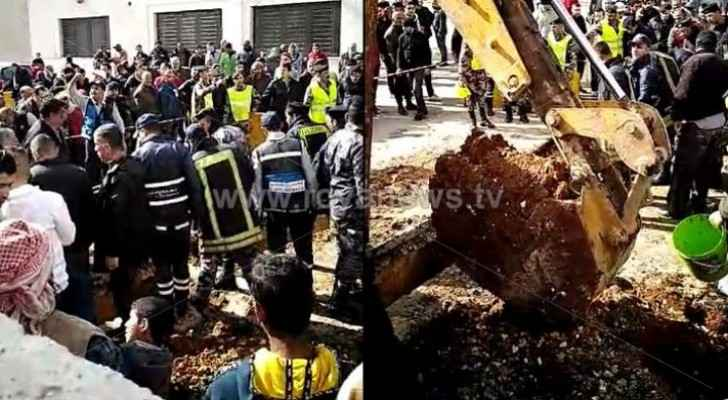 Two Egyptian nationals rescued from under rubble in Amman
